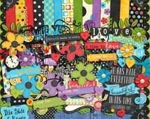 Everything Beautiful - Digital Scrapbook Kit, Illustrated Faith