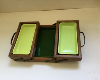 Mid Century Modern Serving Tray