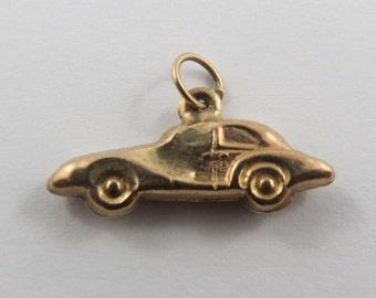 Car 9K Gold Vintage Charm For Bracelet