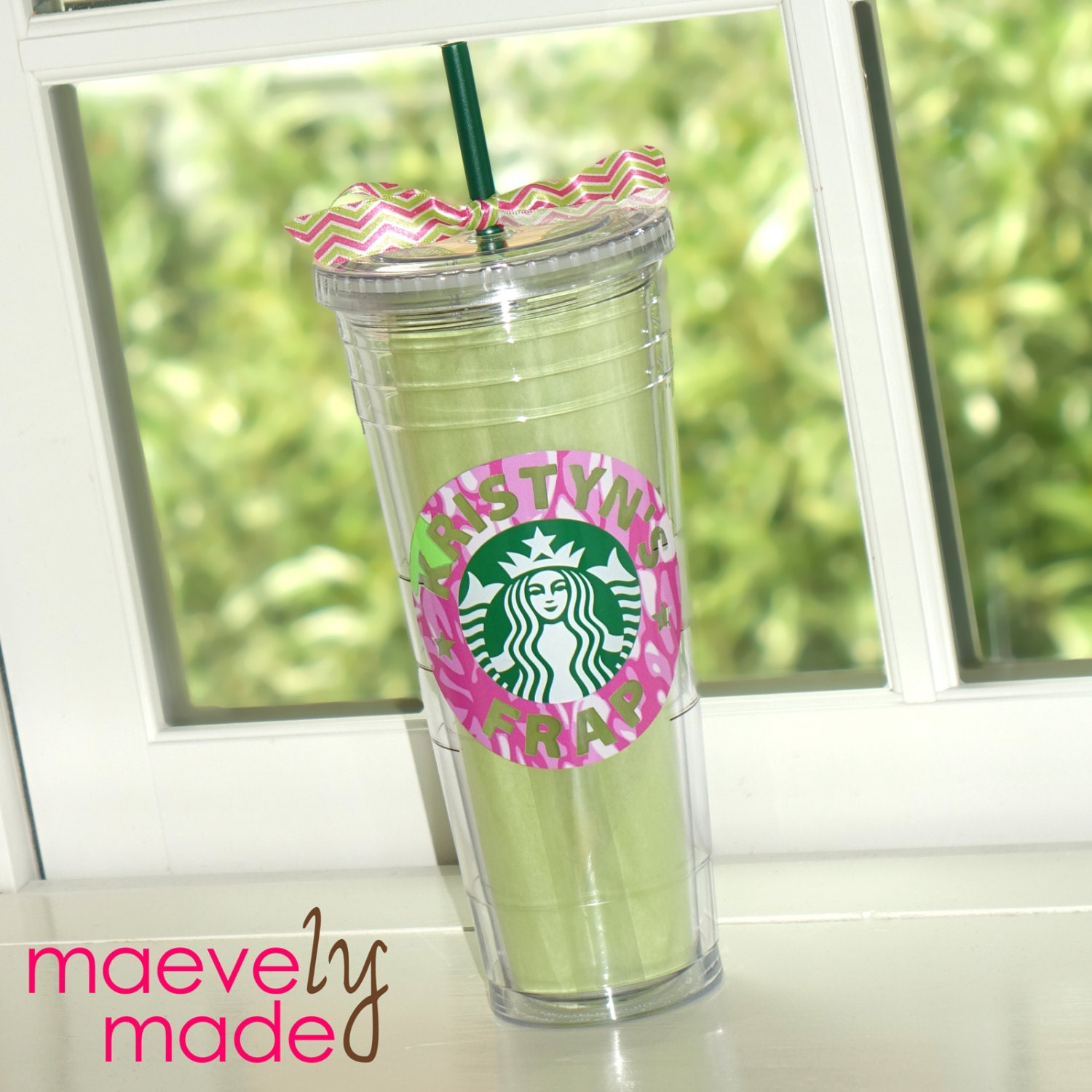 Lilly Pulitzer Starbucks Personalized Tumbler By Maevelymade