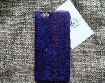 iPhone 7, 6, 6s NavyBlue leather case