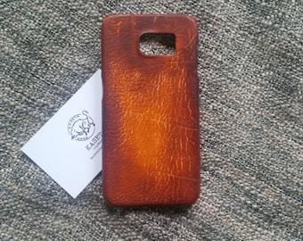 Samsung galaxy s6 ''OldDarkBrown'' leather case