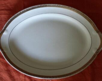 Vintage Oval Taylor Smith China Platter