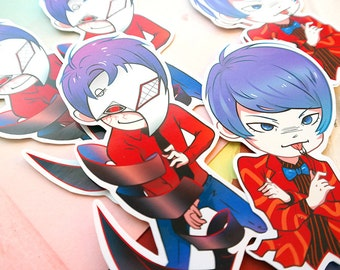 Tokyo Ghoul Shuu Tsukiyama Vinyl Stickers
