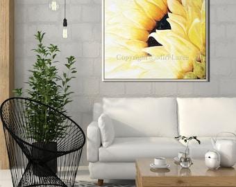 Bedroom wall decor, Bedroom Decor Sunflower Print, Living Room Wall Art, Living Room Art, Bedroom Prints, Floral Wall Decor Floral Art Print