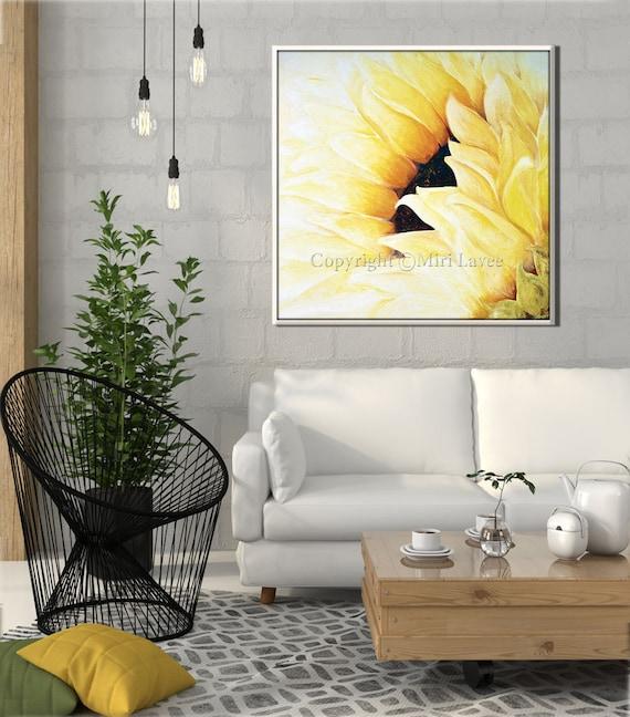 Bedroom wall decor bedroom decor sunflower print living room for Sunflower bedroom decor