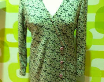 dress, vintage dress, vintage dress, made in italy 1970s