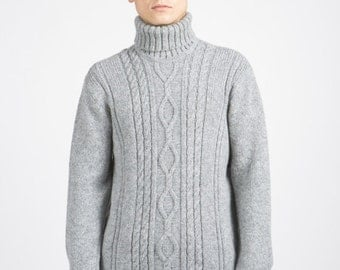 Women's Turtleneck Sweater // Wool Turtleneck // Wool