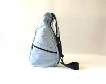 Blue LL Bean Ameribag Purse  / Backpack Purse / Shoulder Purse