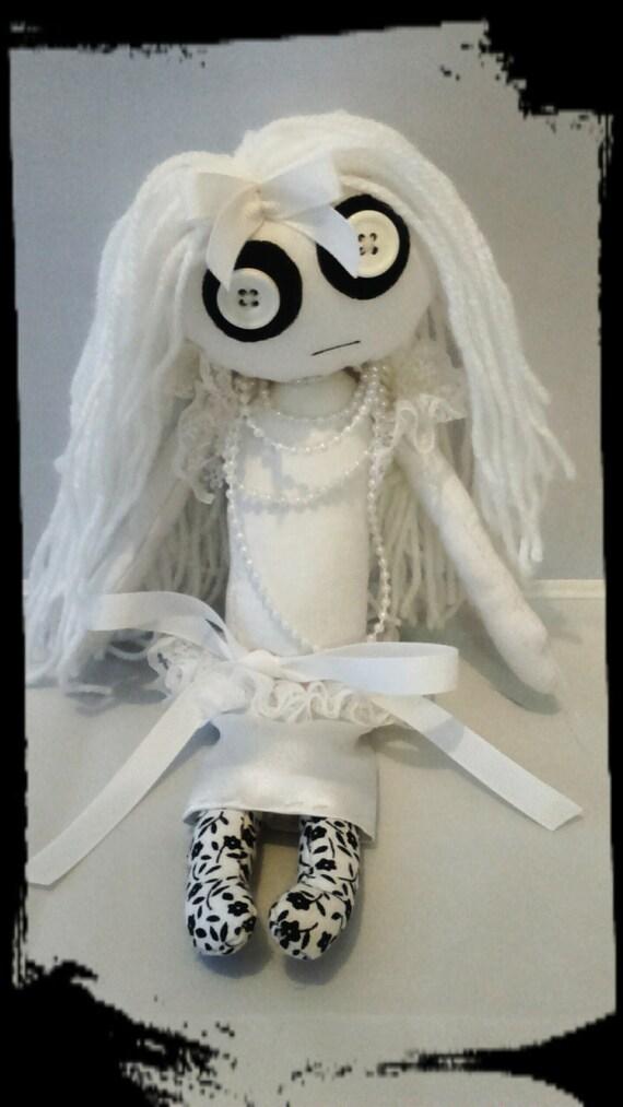Handmade Gothic Harajuku Fashion W H Naoto Spiderweb Bag: Handmade Gothic Doll