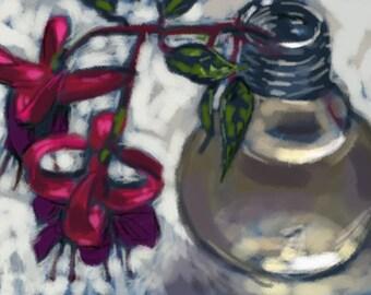 Fuchsia in Vase