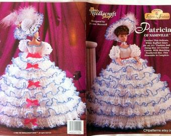 Patricia of Nashville, Ladies of Fashion Thread Crochet Barbie doll dress pattern.