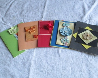 Homemade Greeting Card Assortment w/env; Birthday, Get Well, Thinking of you; Blank, All Occasion