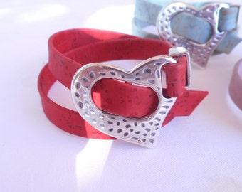 Cord bracelet,summer bracelets,red,violet,green,gift ideas