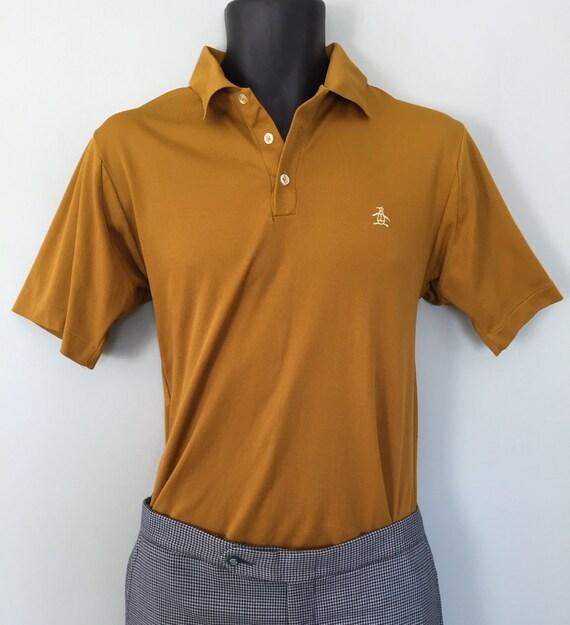 Vintage 60 39 s grand slam penguin shirt by munsingwear in for Golf shirt with penguin logo