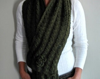 See the Forest Through the Trees crochet scarf