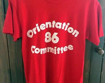 Organization '86 Committee Tee