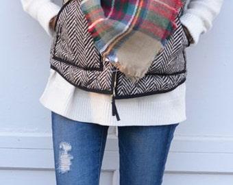 HOTTEST FALL TREND!!! Blanket Scarf, Plaid Scarf, Plaid Blanket Scarf Oversized Zara Tartan Scarf Gift Ideas, Favorite Scarf, unisex scarf