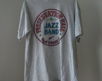 Vintage New Orleans Jazz Band tee | size m