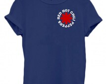 Red Hot Chili Peppers T Shirt Music band printed T-shirts RHCP T-Shirt