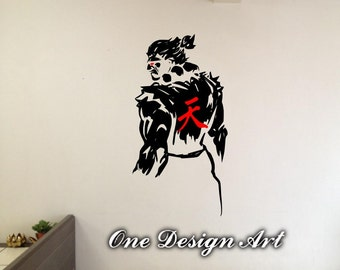 God Of War Kratos Wall Decals Anime Mural Arts Sticker For - Create car decalsanime decal etsy