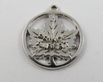 Prince Albert Canada Sterling Silver Charm or Pendant.