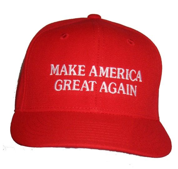 Make America Great Again Ball Cap (Available in Various Color Combos)