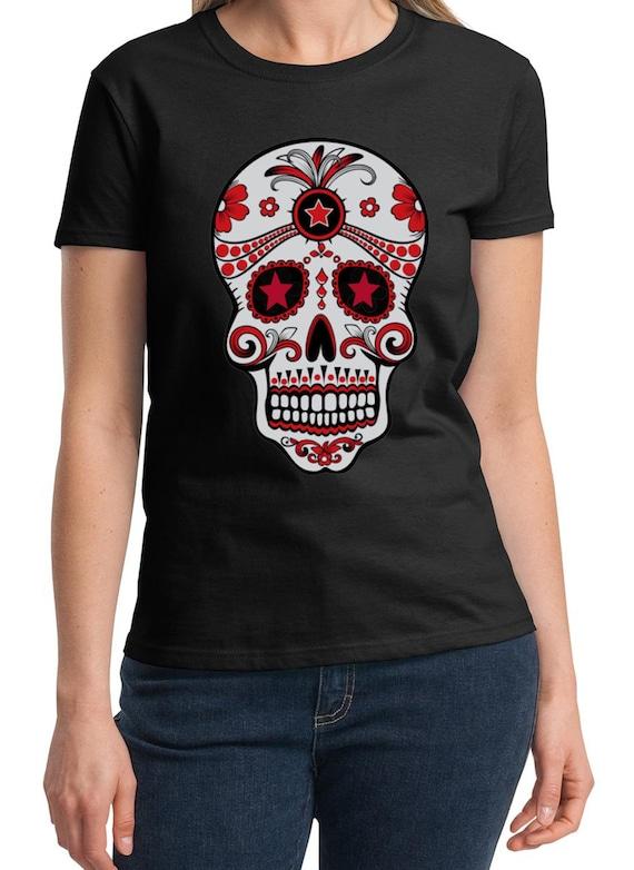 La Dia de Muerta - The Day of the Dead -  Ladies T-Shirt