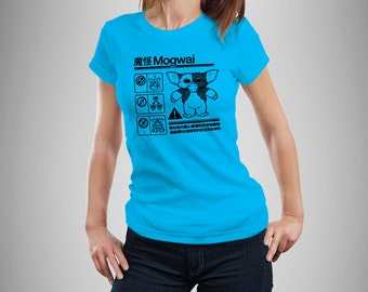 Gremlins Mogwai Warning Women's T-Shirt