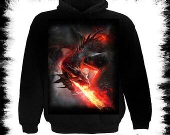 Fire Dragon zipper hoody