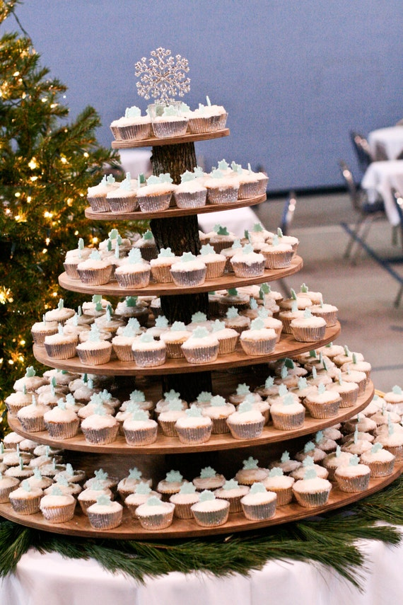 wooden cupcake wedding cake stands 5 tier cupcake donut stand tower holder five tier for 27592