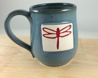 Porcelain Dragon Fly Mug