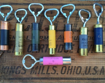 Double Capped Shotgun Shell Bottle Openers