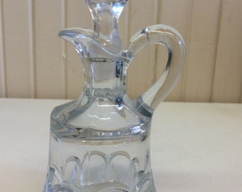Antique Glass Cruet