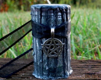Hecate Candle ~ Goddess Hecate Candle ~ Wicca Goddess Candle ~ Witchcraft Spell Candle ~ Deity Candle ~ Ritual Candle ~ Hecate Spell Candle