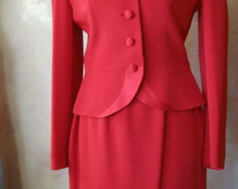 Luxurious Saks Fifth Avenue Silk Suit