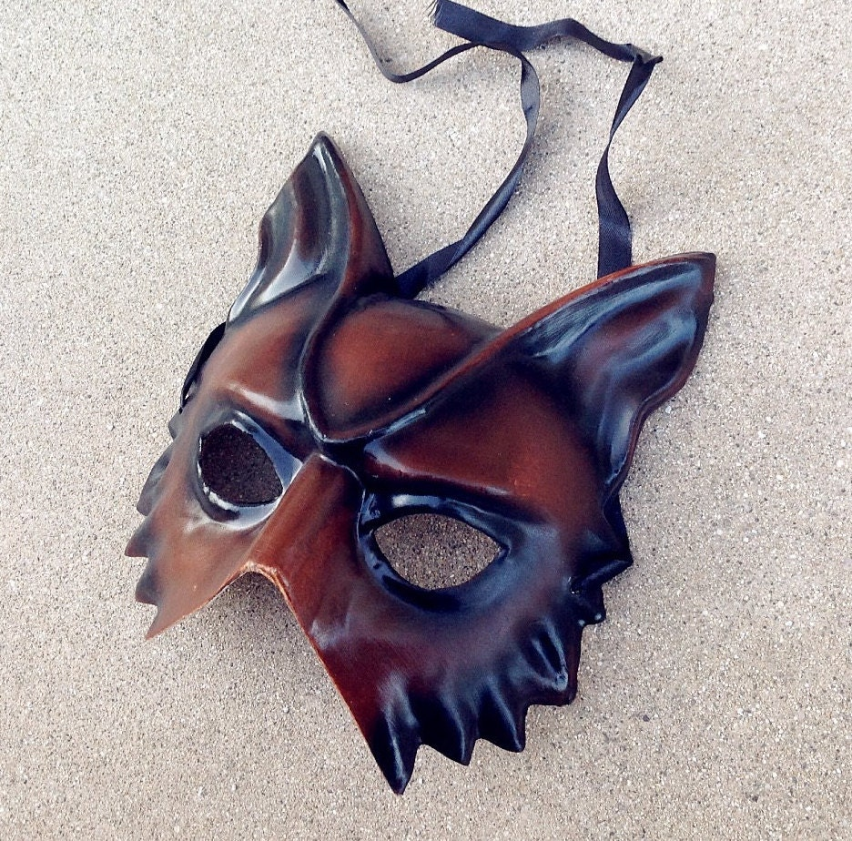 Jackal Face Mask