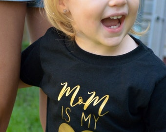 Mom is My BFF Toddler Shirt