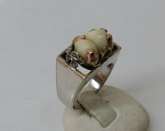 Costume jewelry ring Grandeln silver 835 SR605