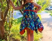 Girls Petal Dress