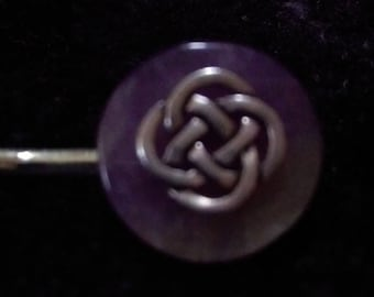Celtic Knot Bobby Pin