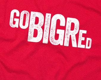 Go Big Red - Nebraska Football - Screen Printed T-Shirt