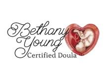 Doula logo watercolour logo mother baby logo heart logo premade logo baby birth fetus logo mother logo midwife logo babycare logo watercolor