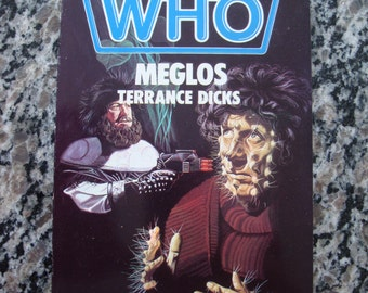 Doctor Who Meglos Target Paperback Book