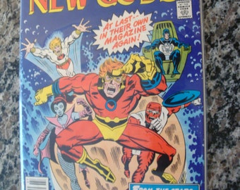 New Gods Issue 12 1977 Science Fiction comic book