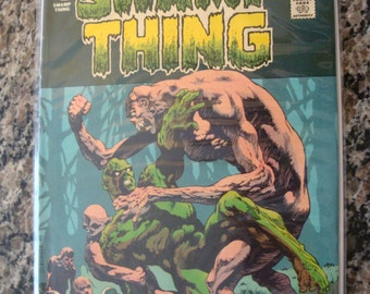 Swamp Thing  Issue 10 1974 comic