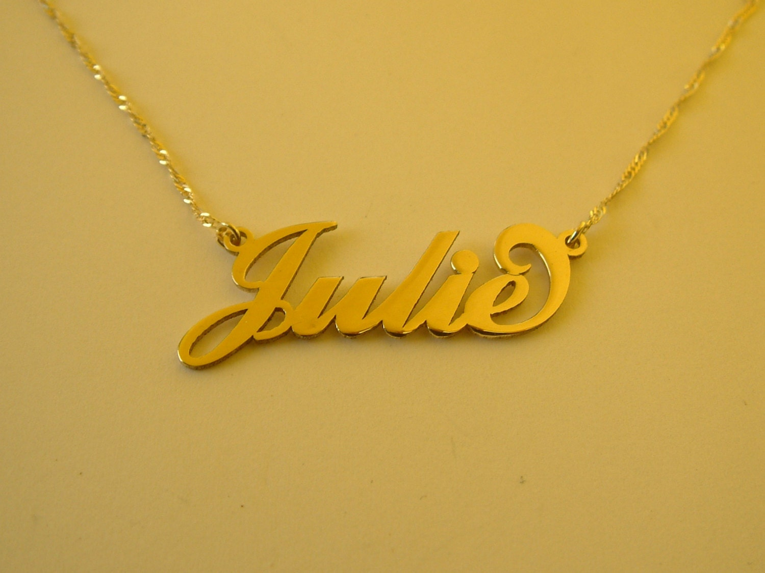 Carrie Name Necklace  oNecklace Personalized Jewelry
