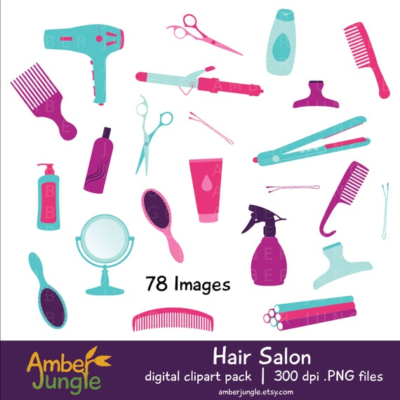beauty shop clip art free - photo #34