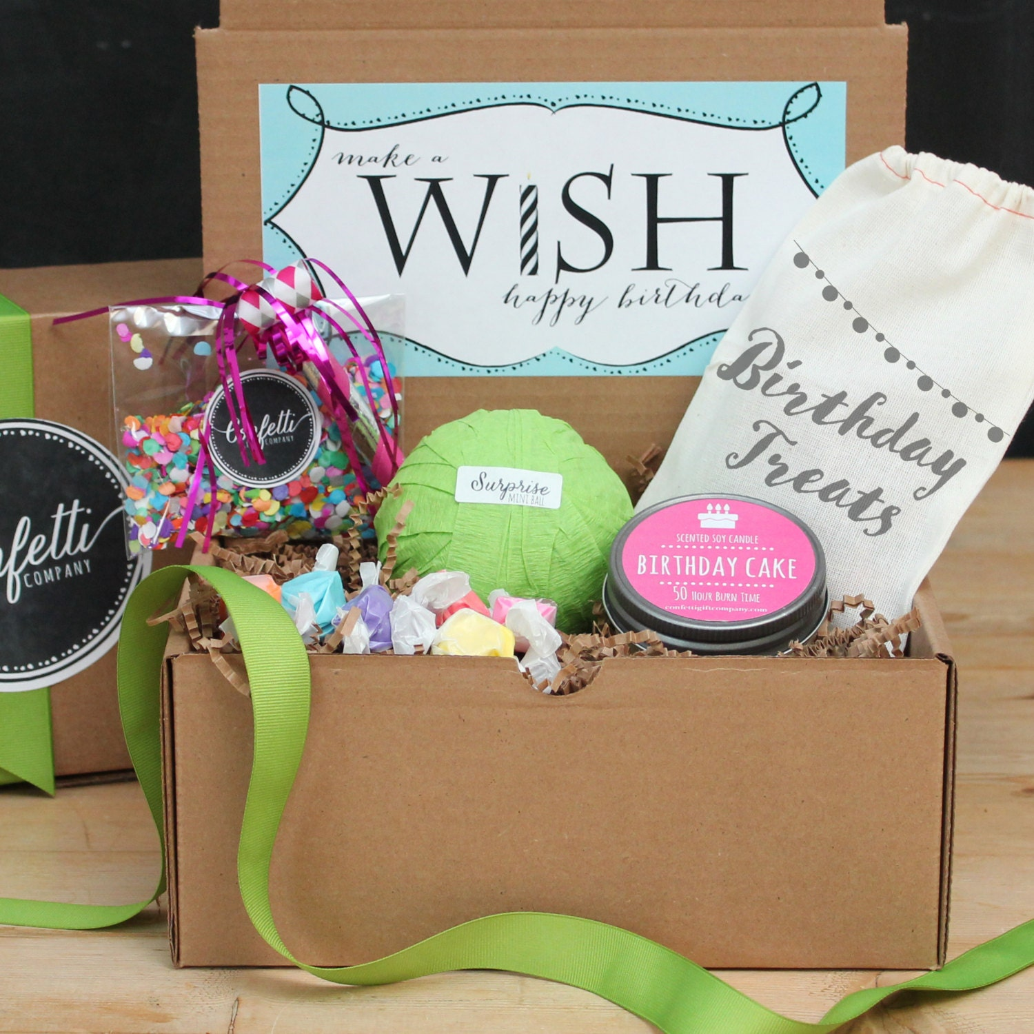 Birthday Gift Box Surprise Ball Birthday By