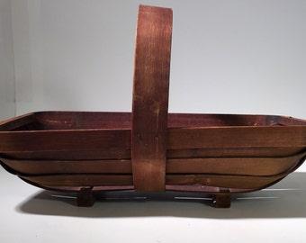 Antique Wood fruit Basket